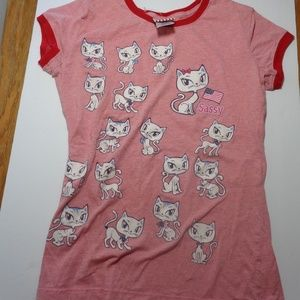 Other - Youth XL sparkly cat shirt